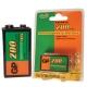 Pila recargable GP 9V 20R8H