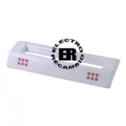 Tirador puerta frigorífico Candy blanco 50115