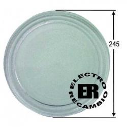 Plato microondas Ø 245 mm. LG liso