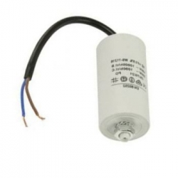 Condensador arranque compresor 2,5MF/450V con cable