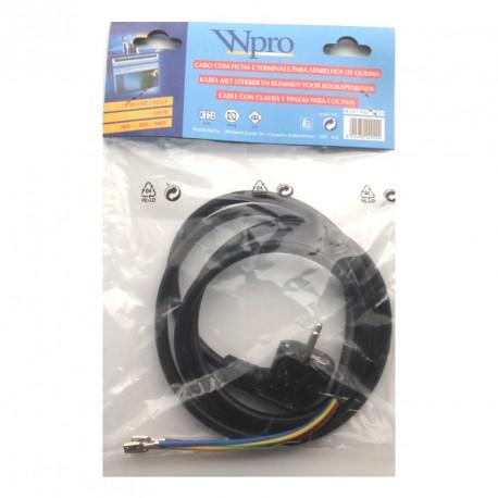 Cable alimentación para electrodomésticos