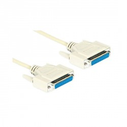 Cable null modem DB25 H-H