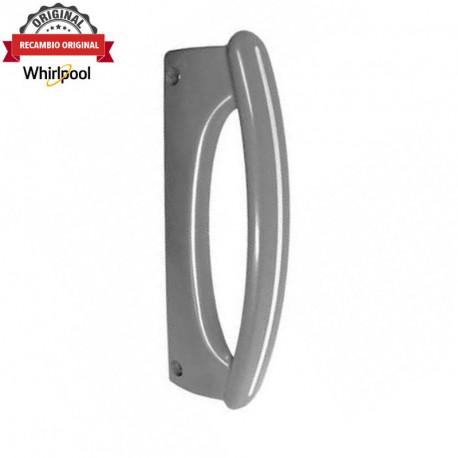 Tirador puerta frigorífico Whirlpool gris