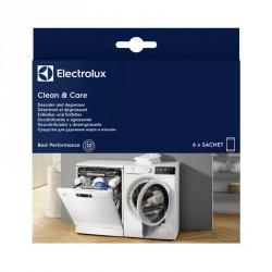 Descalcificador y limpiador para lavadoras y lavavajillas 6 sobres)
