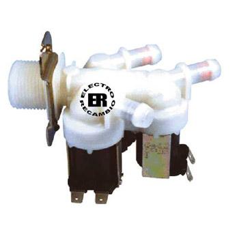 Electroválvula standard 3 vias 180º