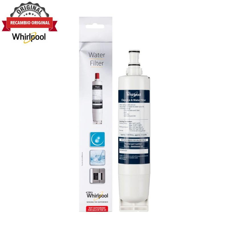 Filtro de agua para frigoríficos Whirlpool SBS002