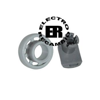 Rueda cesto superior lavavajillas Balay, Bosch